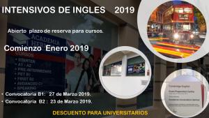 Intensivos de Inglés 2019