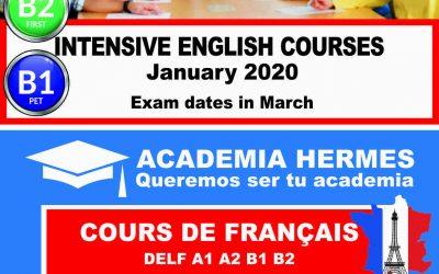 Intensivos Ingles Francés 2020
