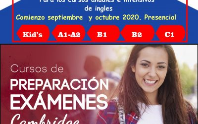 ABIERTO PLAZO DE RESERVA PARA LOS CURSOS 2020-2021.