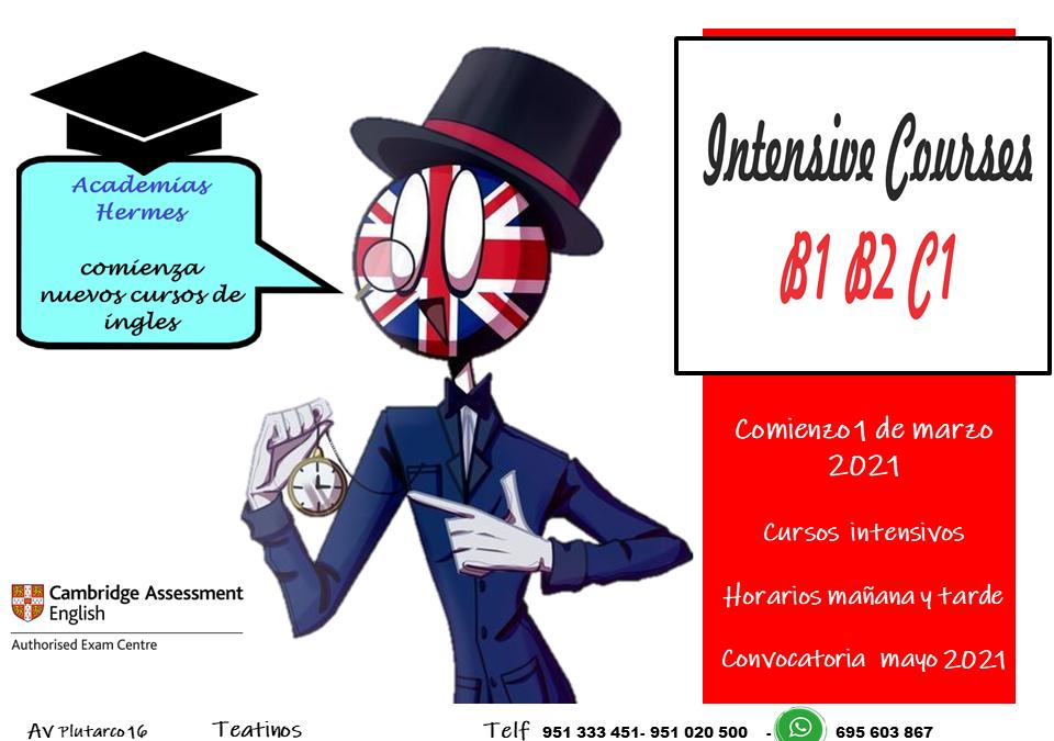 Cursos intensivos Ingles