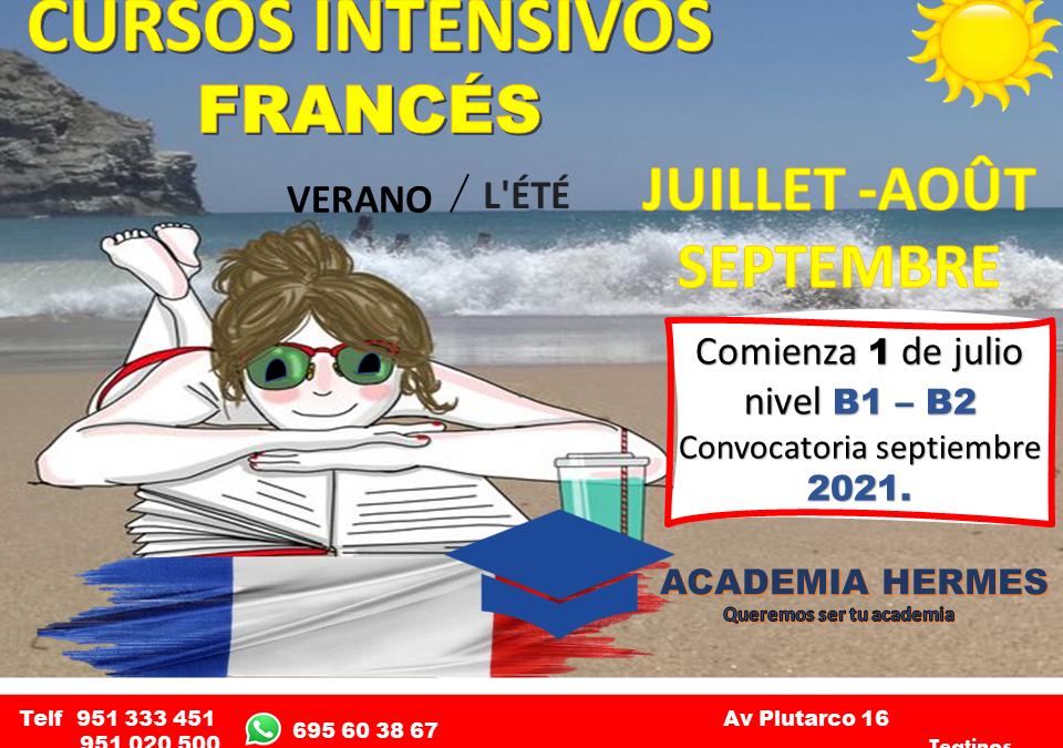 Cursos Intensivos Francés