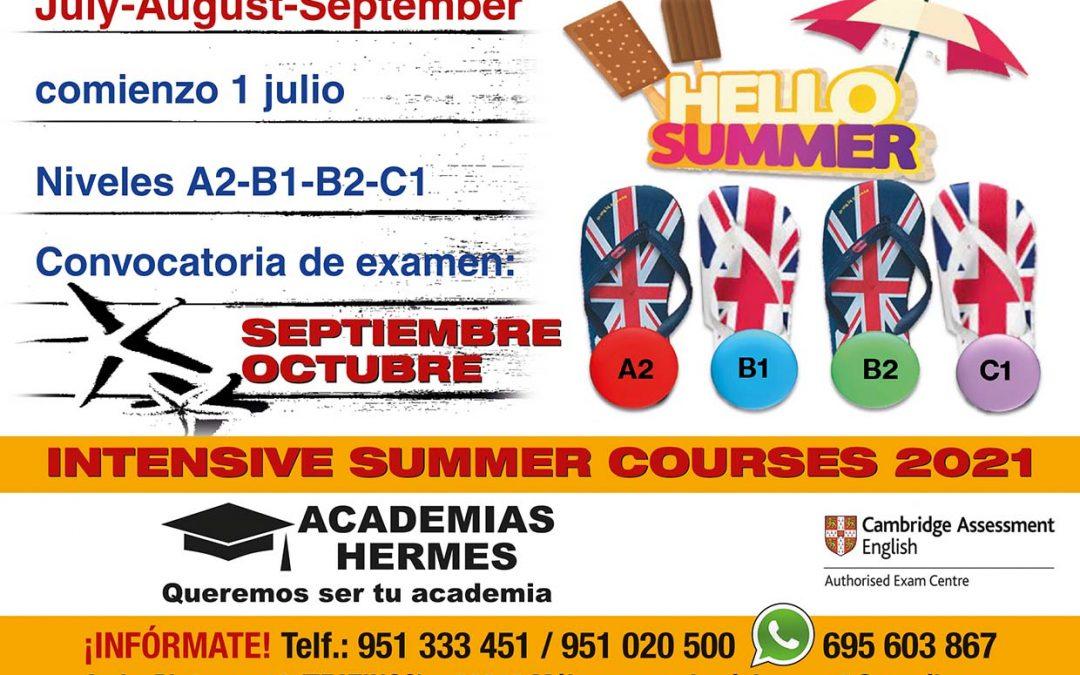 Intensive Summner Courses 2021